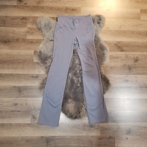 Athleta straight up pant gray workout pants small